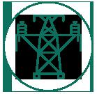 Ícone de um poste de energia
